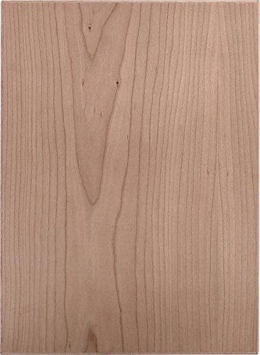 Cabinet Doors 'N' More 10'' X 28'' Unfinished Cherry Veneer Slab Kitchen Cabinet Door by Cabinet Doors 'N' More