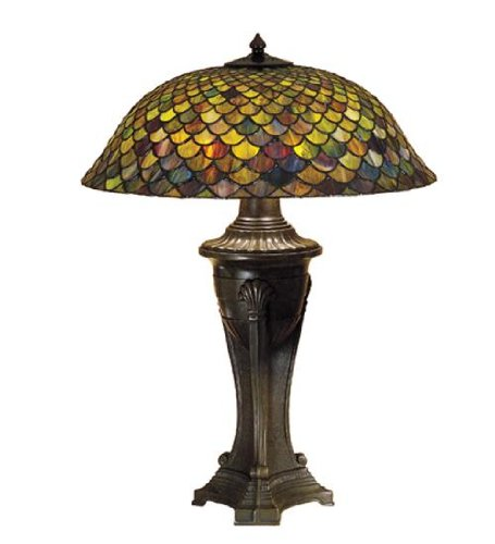 Meyda Tiffany 31115 Lighting, 30'' Height Bronze/Dark