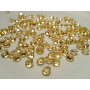 4000 Gold Quality Diamond Scatter Crystals Wedding Table Decoration By Wonderland Home