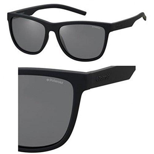 Polaroid Sonnenbrille (PLD 6014/S) BLACK RUBBER/GREY POLARIZED
