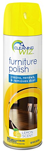 Price comparison product image Cleaning Wiz Furniture Polish,  9.7 Fluid Ounce (Pack of 4)