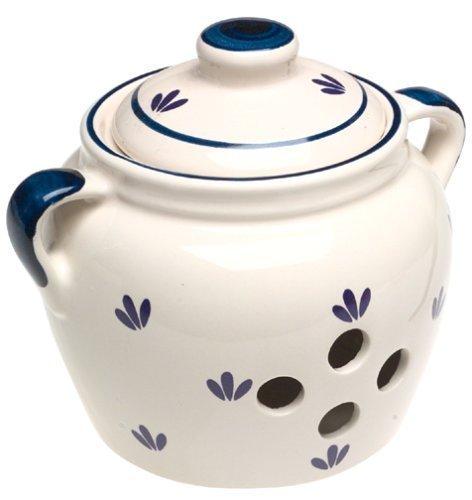 Norpro 5-Inch Ceramic Garlic Keeper Home Supply Maintenance Store