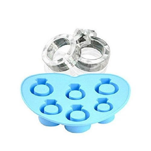 Wholeport Diamond Ring Ice Molds Clay Molds Epoxy Resin Molds Huadong Trading
