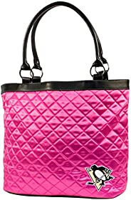 NHL Pink Quilted Tote