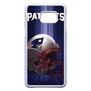 caso patriotas de Nueva Inglaterra I9R21M2TS funda Samsung Galaxy S6 Edge Plus funda B737E5 blanco
