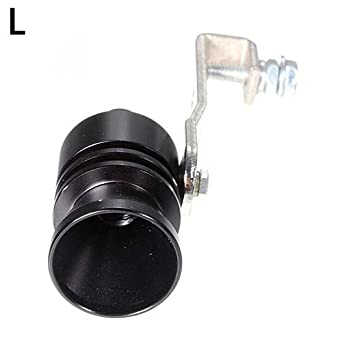 YUSHHO56T External Modified Muffler Exhaust Fake Turbo Muffler Blow Off Valve Whistle Pipe Sound Simulator Whistle - L: Amazon.com: Industrial & Scientific