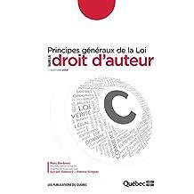 Principes généraux de la Loi sur le droit d'auteur: Édition 2013