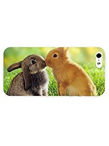 3d Full Wrap Case For Iphone 6 4.7 Inch Cover Animal Cute Lovely Rabit