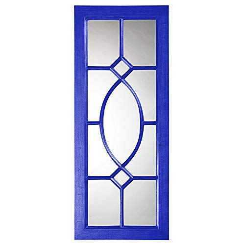 Howard Elliott 60108RB Dayton Mirror, Glossy Royal Blue
