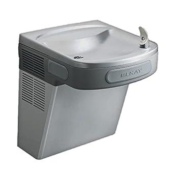 Elkay EZS8 Single Basin Refrigerated Wall Mount Water Cooler, Stainless Steel