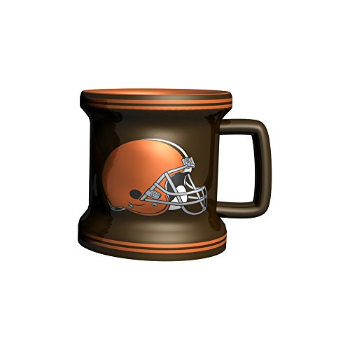 NFL Cleveland Browns Sculpted Mini Mug, 2-ounce