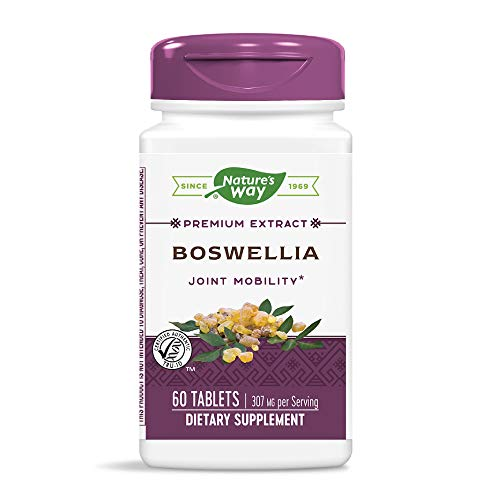 Nature's Way Boswellia, 60 Tablets (Pack of 2) ()