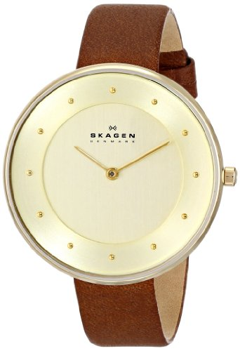 Skagen Women's SKW2138 Gitte Saddle Leather Watch