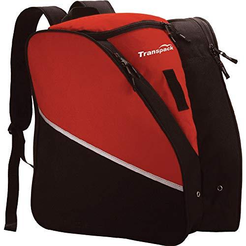 (Transpack Alpine Ski Boot Bag 2019 - Red)