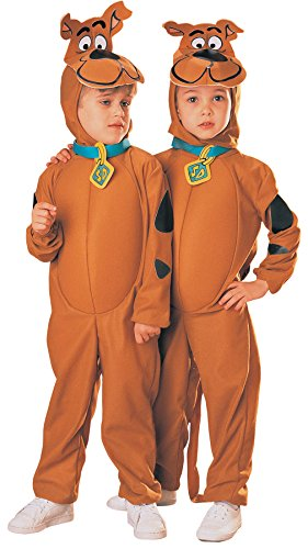 UHC Boy's Scooby-Doo Outfit Classic Cartoon Dog Toddler Kids Halloween Costume, M (8-10) ()