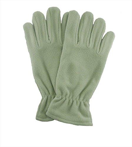 保証金長老同意[パンダファミリー] フリース 手袋 シンプル 無地 カラフル 全15色