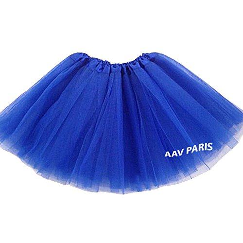 Fille Bal Danse Mini Princesse Femme Ballet Jupe TM LQZ Tutu Saphir Couches 3 XEqZnS