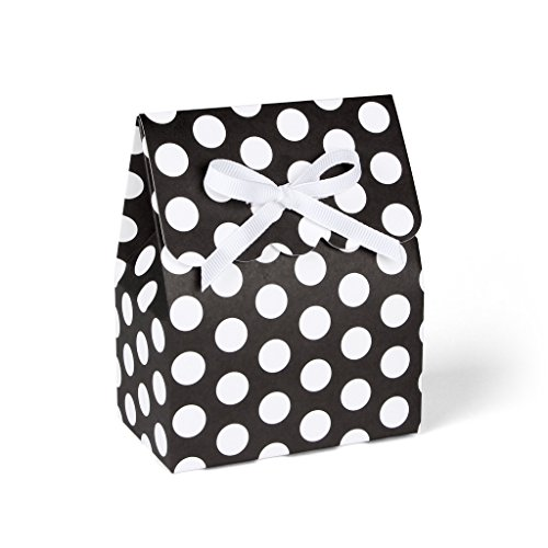 black-and-white-polka-dot-favor-boxes-with-white-grosgrain-ribbon-big-dot-set-of-8
