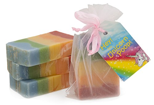 Unicorn Poop Soap : smell like a fecal rainbow! - One bar