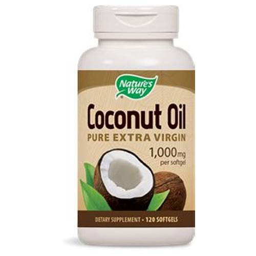 Nature's Way, Oil Coconut 1000Mg, 120 Softgels