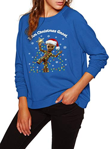 I Am Christmas Groot – Divertida Navidad clásico Moda Impresionante Camisa de la Gente Amor bebé Groot Unisex Estilo...
