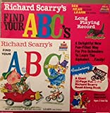 Richard Scarry's Find Your ABC's Record and read along book