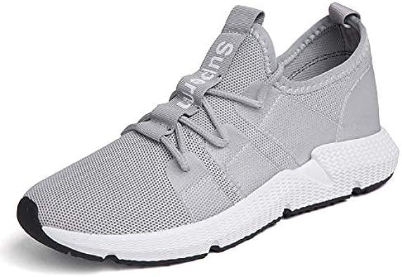YZWD Zapatillas Running Hombre Aire Libre Y Deporte Transpirables Casual Zapatos De Hombre Zapatillas De Tela Tejidas Con Malla Zapatillas De Malla Con Malla Para Correr 7 C: Amazon.es: Zapatos y complementos