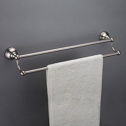 18 inch brushed nickle towel bar - 4