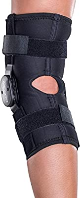 DONJOY Deluxe Hinged Knee Brace Sleeve