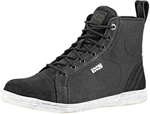 IXS Classic Sneaker Nubuk-Cotton 2.0 Black Unisex Classic Sneaker Nubuk-Cotton 2.0 Black