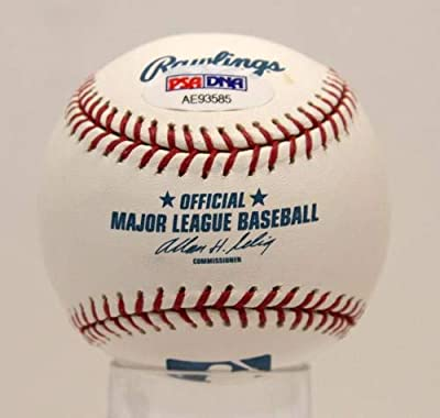 Signed Rod Carew Ball - Oml #ae93585 - PSA/DNA Certified - Autographed Baseballs