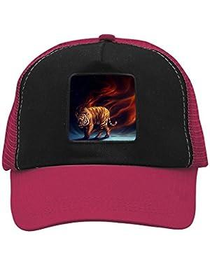 Unisex Blood Tiger Adjustable Classic Hiphop Hat Baseball Cap Snapback Dad Hat