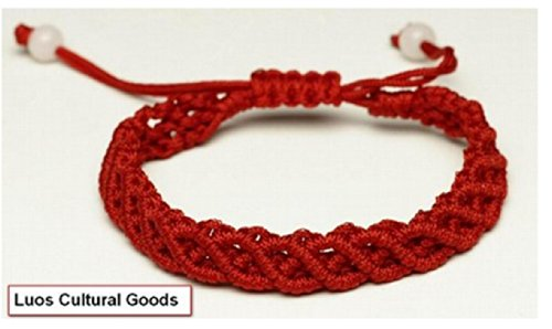 Hand Made Red String Bracelet -Good for Prosperity A1