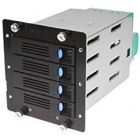CHENBRO Chenbro 84H220910-079 4x 3.5 HDD Cage For SR105SR209 w 6Gbs SATA BP& 80mm Fan / 84H220910-079 /