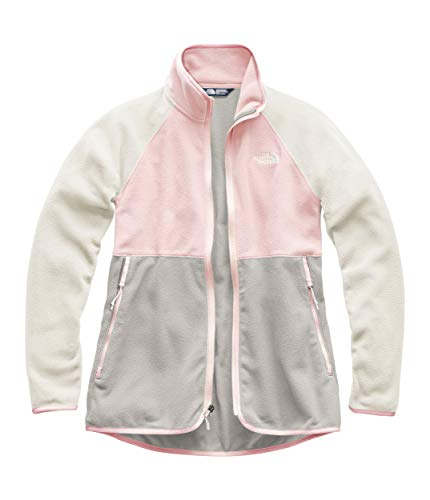 The North Face Women's Glacier Alpine Full Zip Pink Salt Multi Medium