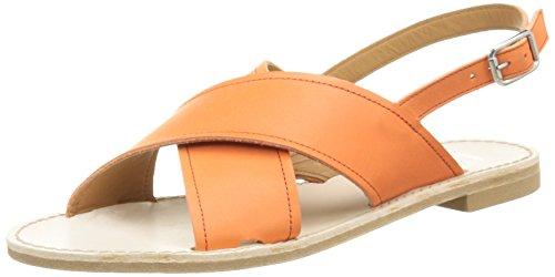 Bensimon F15547c667 - Sandalias de vestir Mujer Orange (215 Orange)