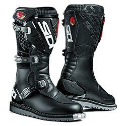 (Sidi Discovery Rain Motorcycle Boots (42, Black) )