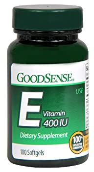 GoodSense Vitamin E 400 IU Softgels, 100 Count