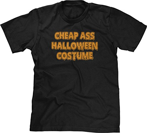 Jack Teller Costume (Blittzen Mens Cheap Ass Halloween Costume, M, Black)