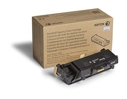- Genuine Xerox Black Standard Capacity Toner Cartridge (106R03620) - 2,600 Pages for use in Phaser 3330, WorkCentre 3335/3345