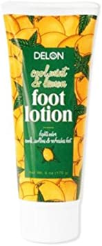 Delon Cool Mint Lemon Foot Lotion – 6 Oz.