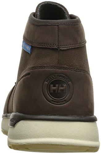 Helly Hansen Men's Borgen Safety Boots, Brown Coffee Bean/Racer Blue/Natural/Pale Gum