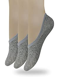 Eedor Women's 3 to 8 Pack Thin Casual No Show Socks Non...