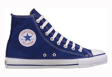Converse Chuck Taylor All Star Hi, Zapatillas de tela unisex Bleu marine