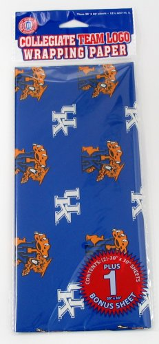NCAA Kentucky Wildcats Wrapping Paper