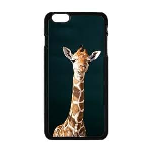 Masq Personalized Protective Case For IPhone 6 PLUS TPU Rubber Case - Funny Giraffe