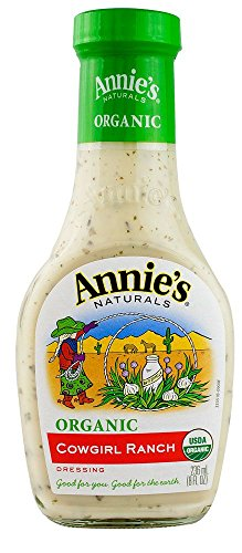 Annie's Homegrown Organic Cowgirl Ranch Dressing - 8 oz -