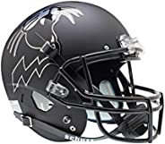 NCAA Northwestern Wildcats Replica XP Helmet - Alternate 2 (Matte Black)
