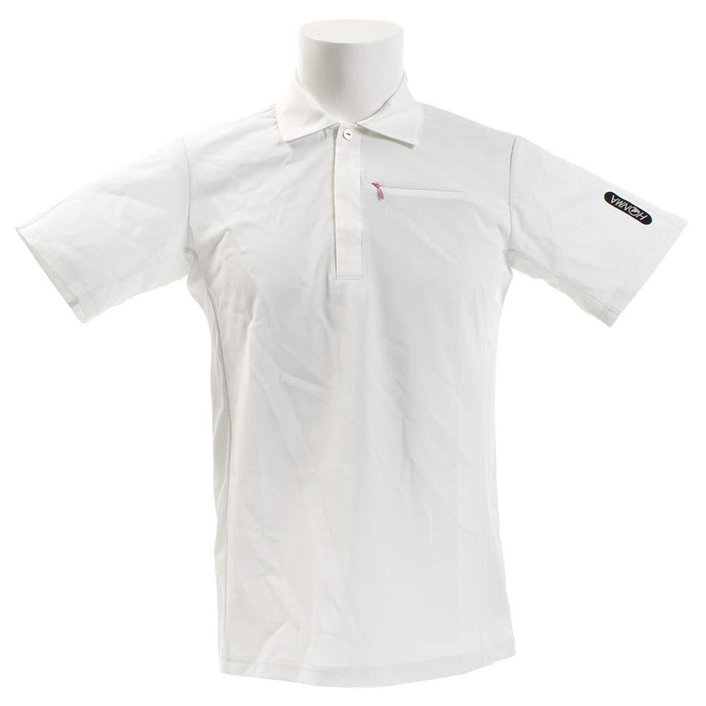 ホンマゴルフ(ホンマゴルフ) P URBILD4D半袖シャツ L ホワイト B07QLXNQGG