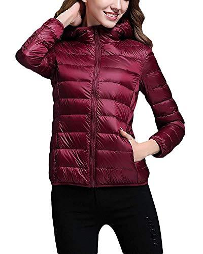 Green Purple Piumino Imbottito Invernale Cappuccio M Home Trapuntato Size £ Women Jacket Leggero Cappotto Donna Con Da Caldo color £ E TFgRxpwq
